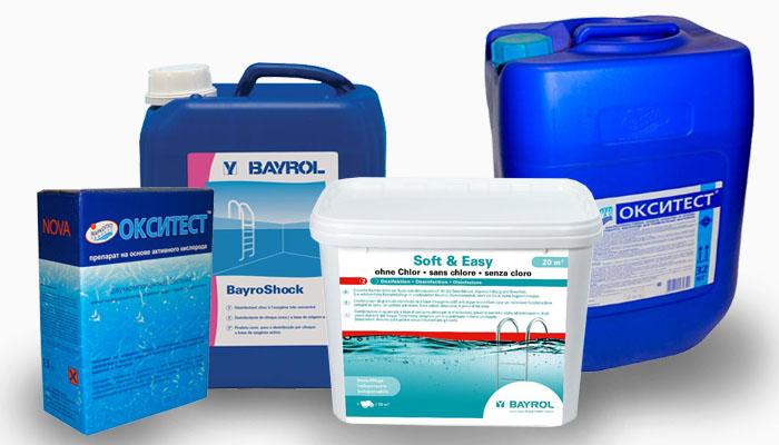 Дезинфекция воды кислородом